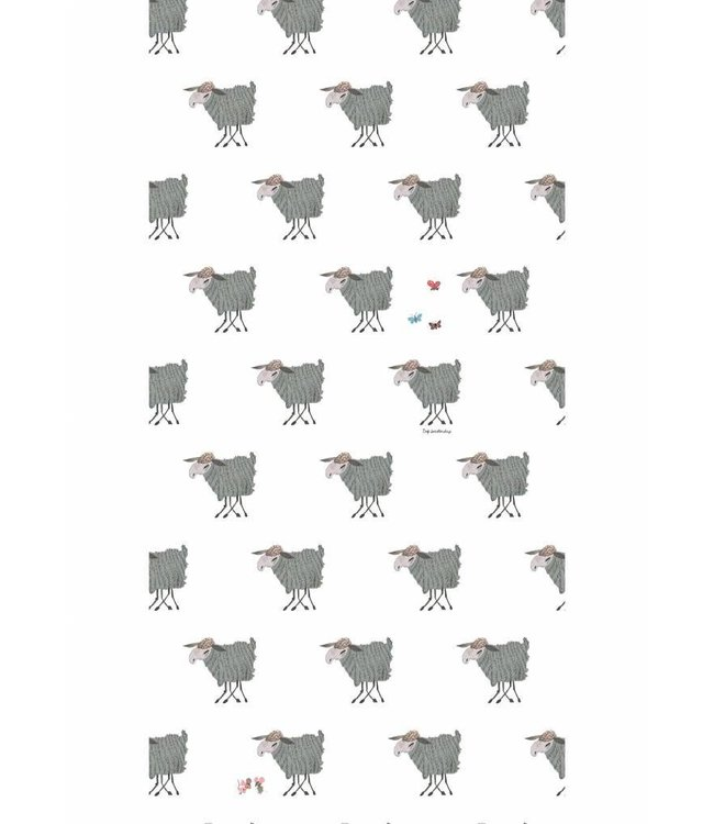 Kek Amsterdam Fiep Westendorp Wallpaper 'Sheep'