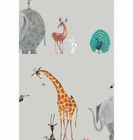 Kek Amsterdam Wallpaper Animals, gray