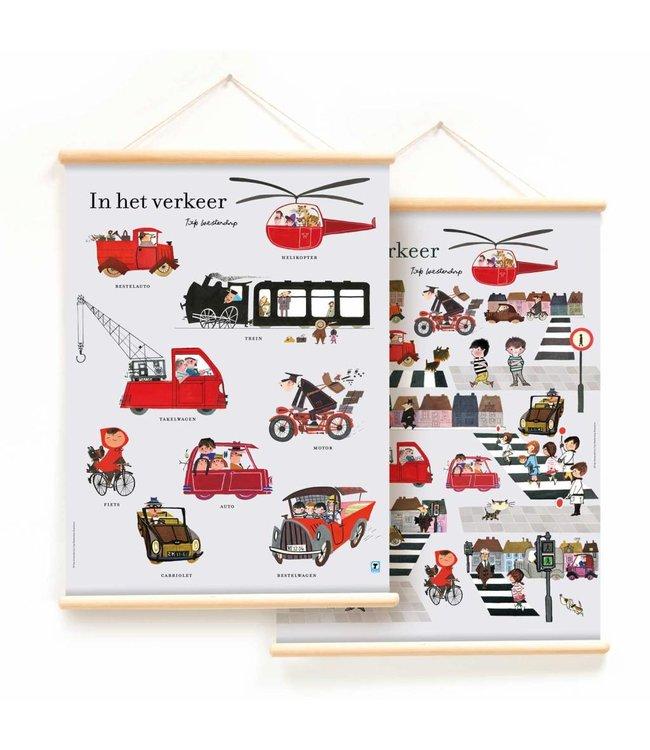 Educational Poster 'Traffic' - Fiep Westendorp