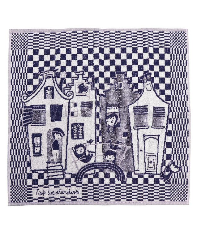 Hollandsche Waaren Kitchen Towel 'Canal Houses'