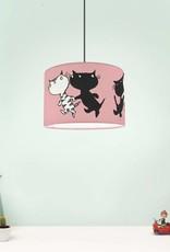 Designed4Kids Hanging Lamp 'Pim and Pom' - pink