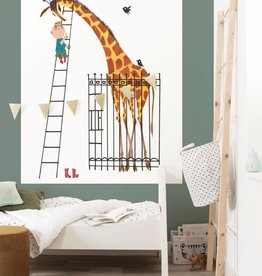 Kek Amsterdam Wallpaper Panel 'Giant Giraffe'