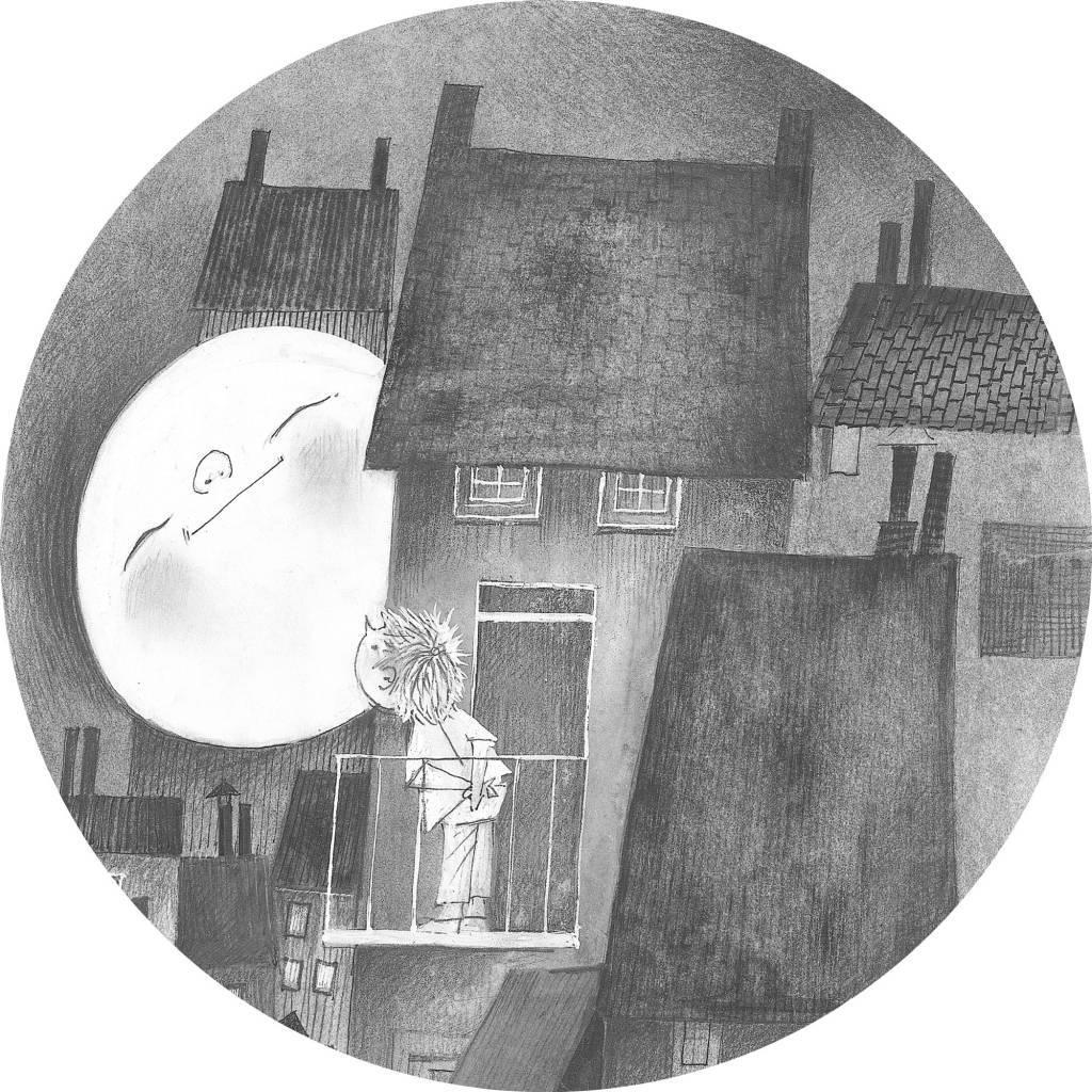 Kek Amsterdam Wallpaper Circle 'Moonlight', ø 190 cm