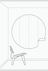 Kek Amsterdam Behangcirkel 'Mijn held', ø 190 cm