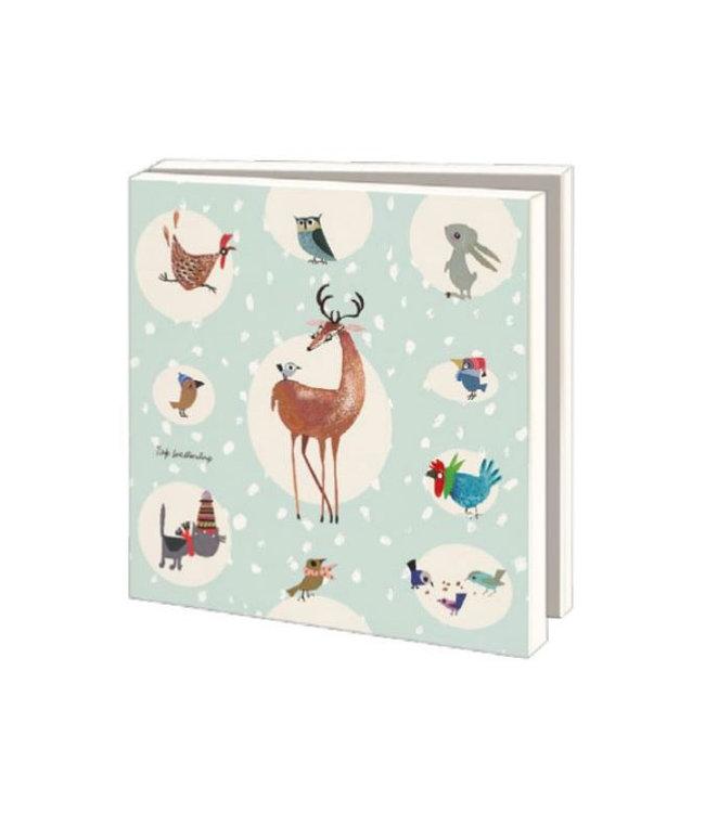 Bekking & Blitz Card Wallet, Animals / Winter