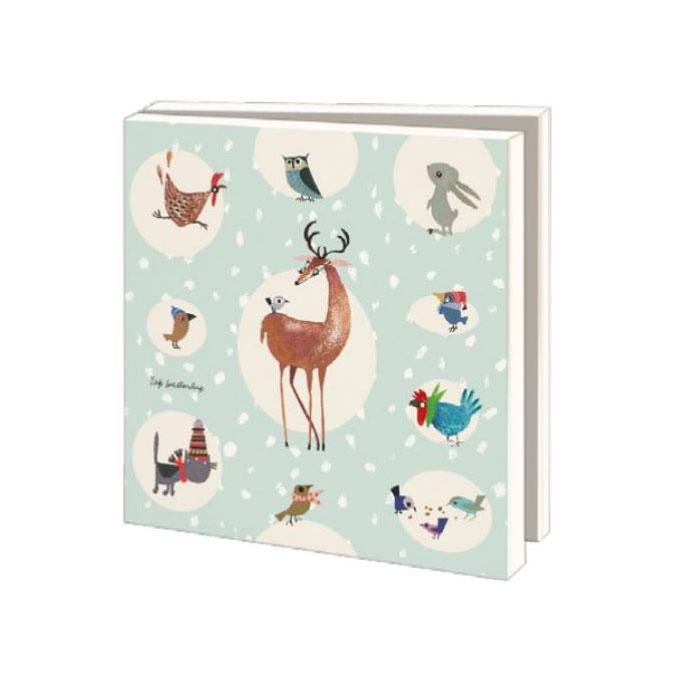 Bekking & Blitz Card Wallet, Animals / Winter