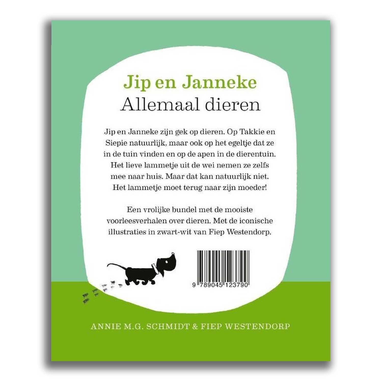 Querido Jip en Janneke - Allemaal dieren, Annie M.G. Schmidt en Fiep Westendorp
