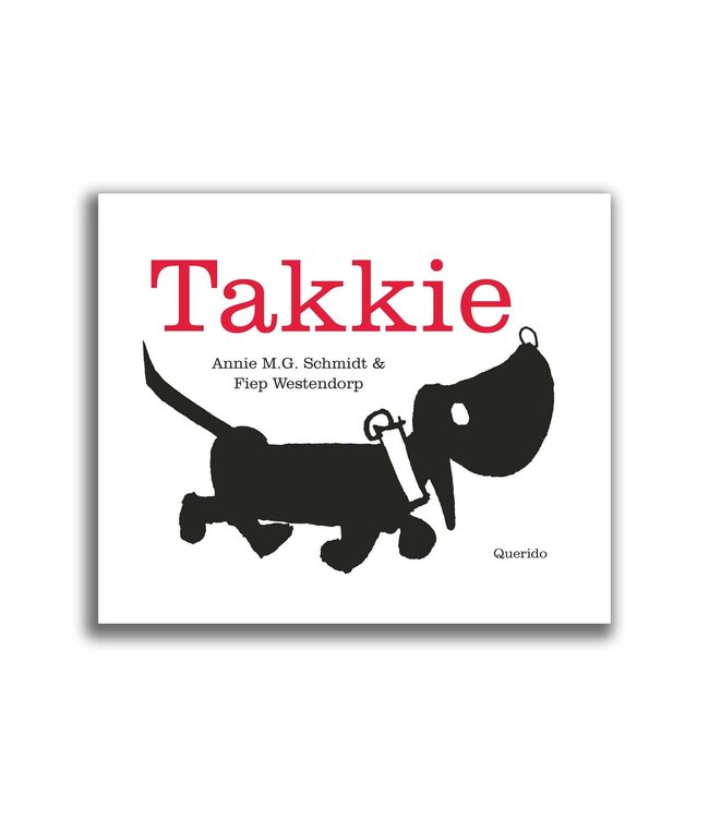 Takkie has his own book! (in dutch)