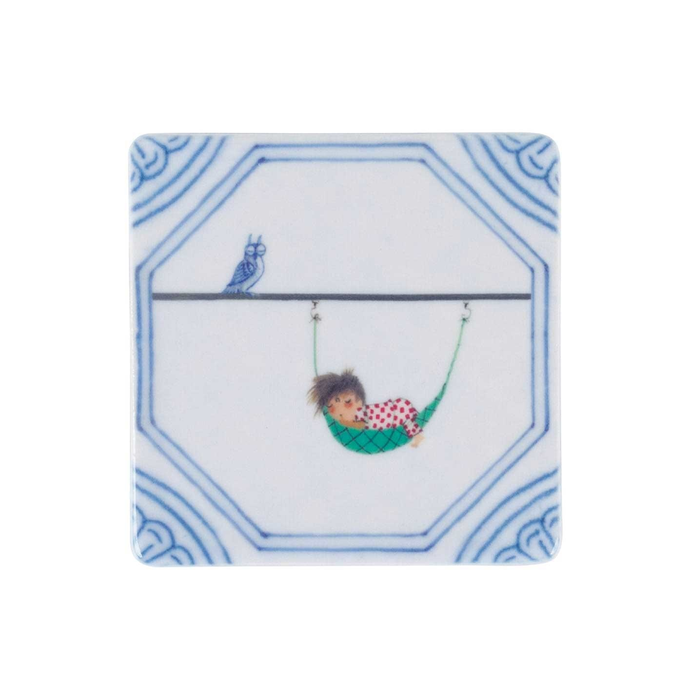 StoryTiles Fiep Westendorp Mini Tile 'A lazy afternoon' - Storytiles