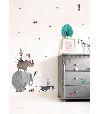 Kek Amsterdam Fiep Westendorp Wall stickers Animals / Elephant (XL)