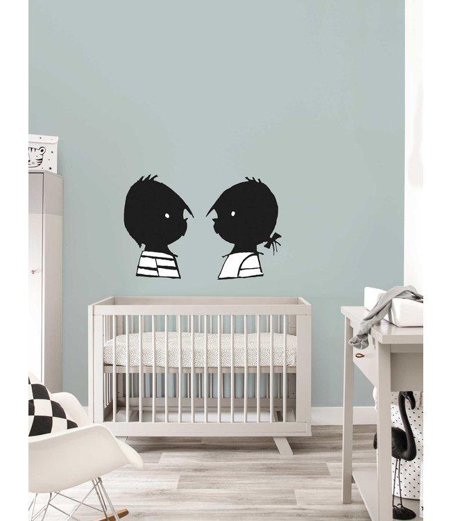 Jip and Janneke wall stickers 'Portraits' - Fiep Westendorp
