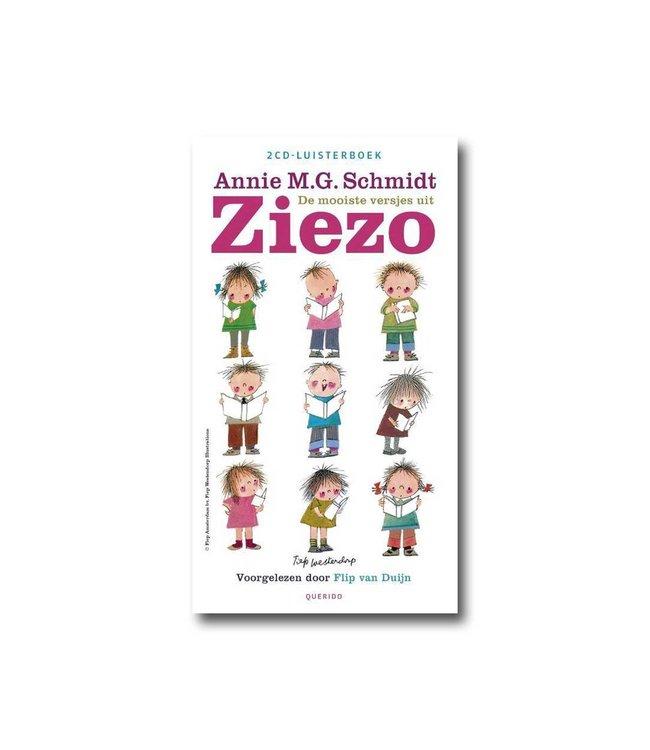 De mooiste versjes uit Ziezo - CD-Luisterboek - Annie M.G. Schmidt