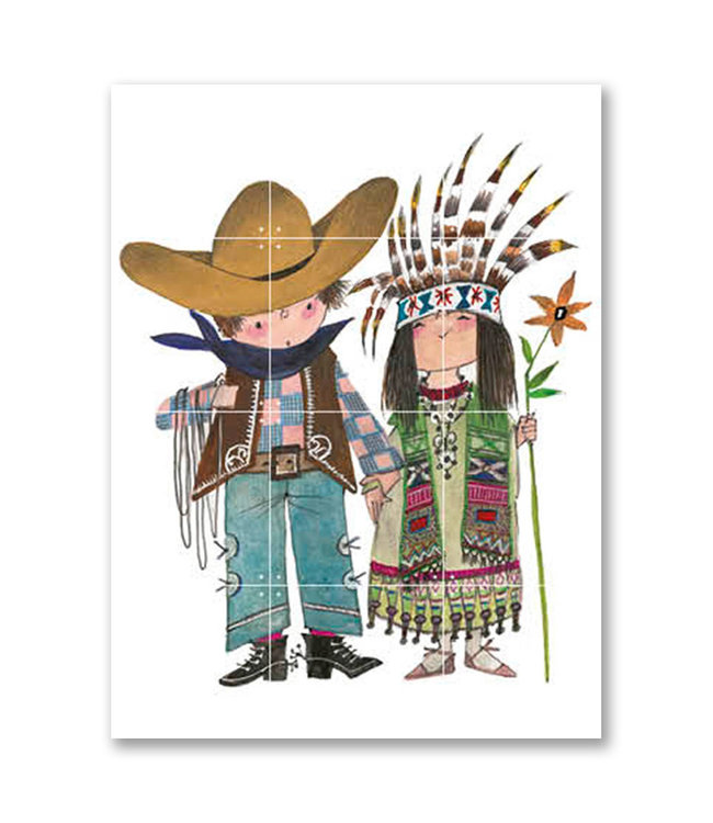 IXXI 'Cowboy and Indian' - Fiep Westendorp
