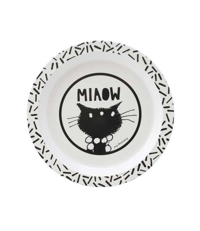 Siepie bordje - melamine, 21 cm - Jip en Janneke kinderservies