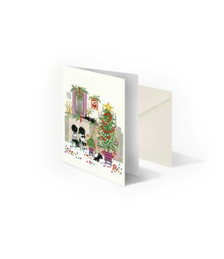 Bekking & Blitz 'Jip and Janneke, 'Christmas tree' folded notecard, Fiep Westendorp