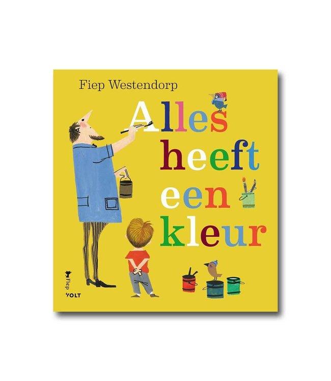 Alles heeft een kleur - kartonboek - Fiep Westendorp