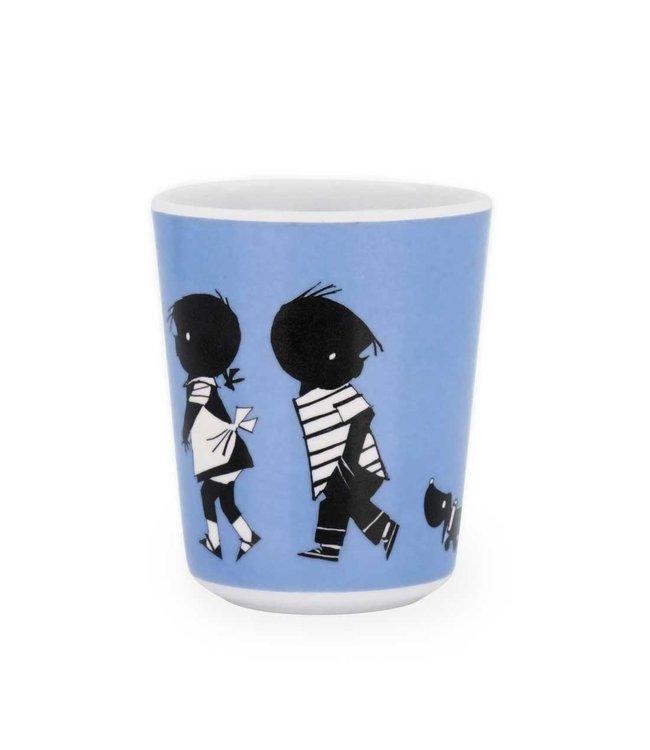 Jip and Janneke cup - melamine, 8 cm
