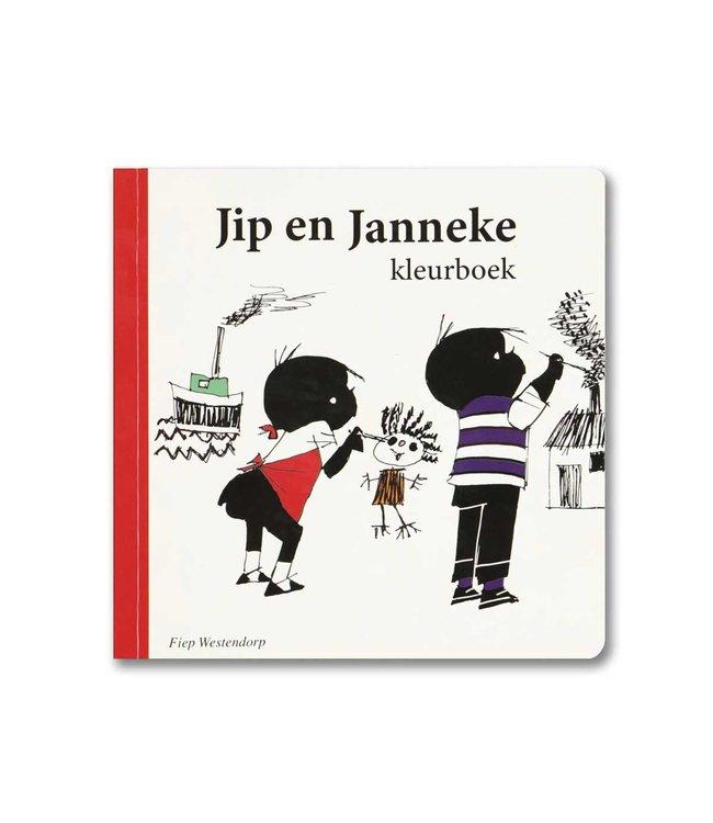 Jip and Janneke colouring book