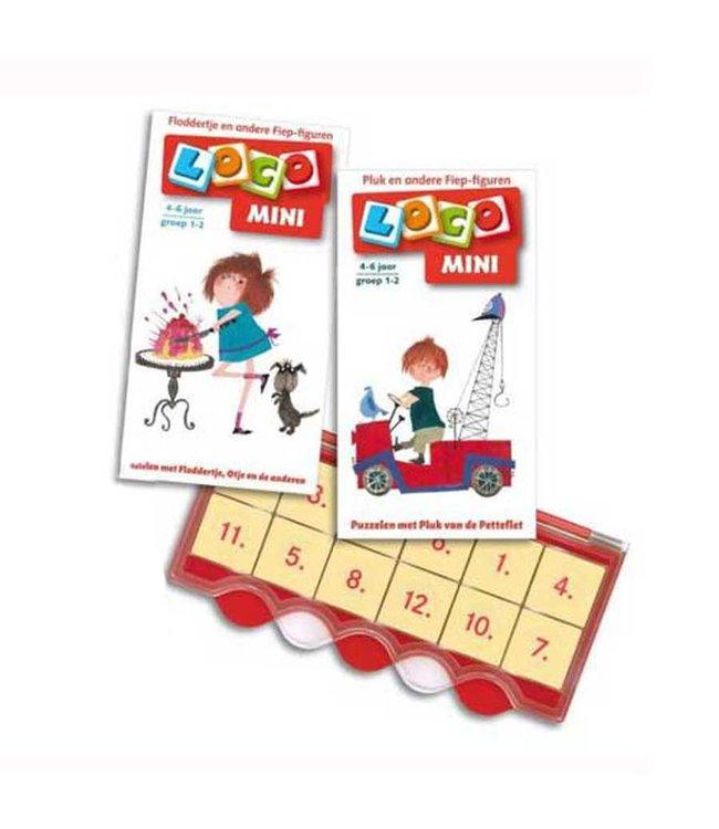 Mini Loco - Set 'Puzzelen met Pluk en Floddertje'