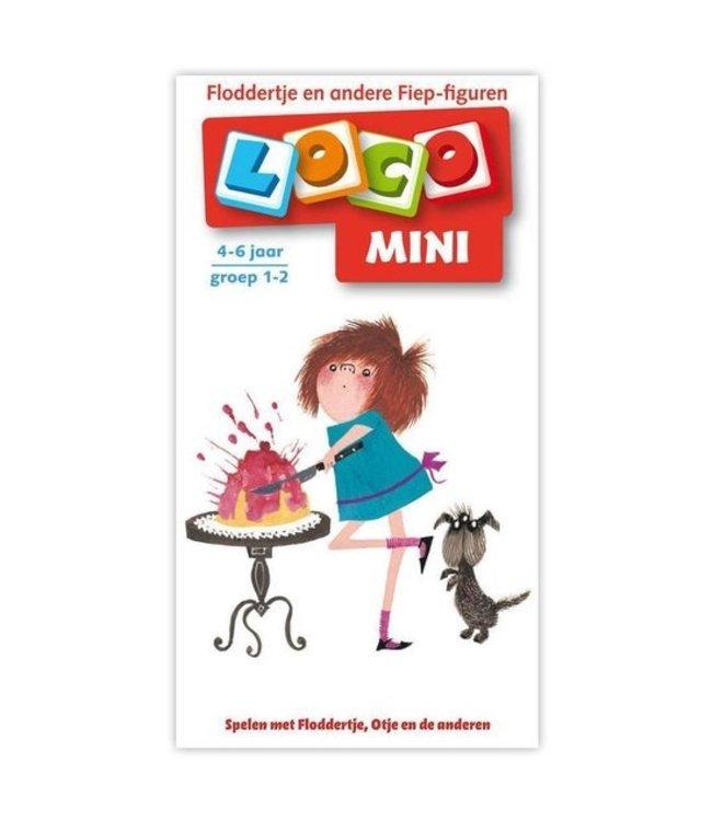 Noordhoff Uitgevers B.V. Mini Loco - boekje 'Floddertje en andere Fiep-figuren'