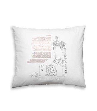 Plint Pillowslip with poem 'Het Kameeltje' - Annie M.G. Schmidt