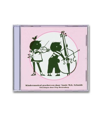 Jip en Janneke kindermusical (CD)