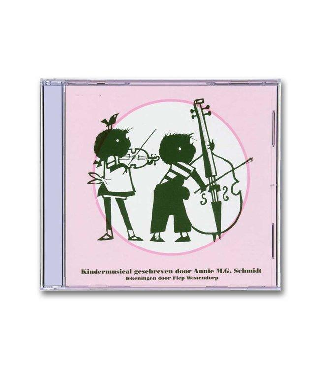 Jip en Janneke Kindermusical (CD) - Een fluitje van een cent - Annie M.G. Schmidt