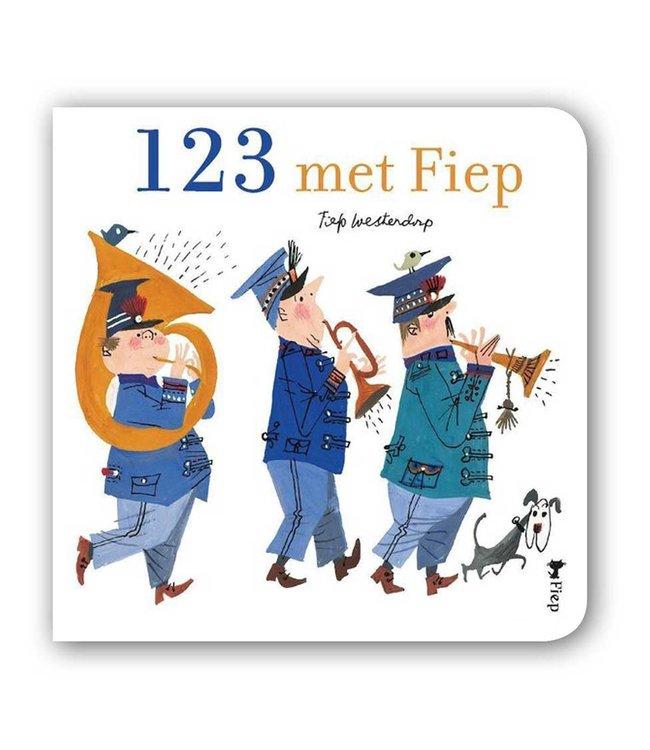 123 met Fiep - kartonboekje