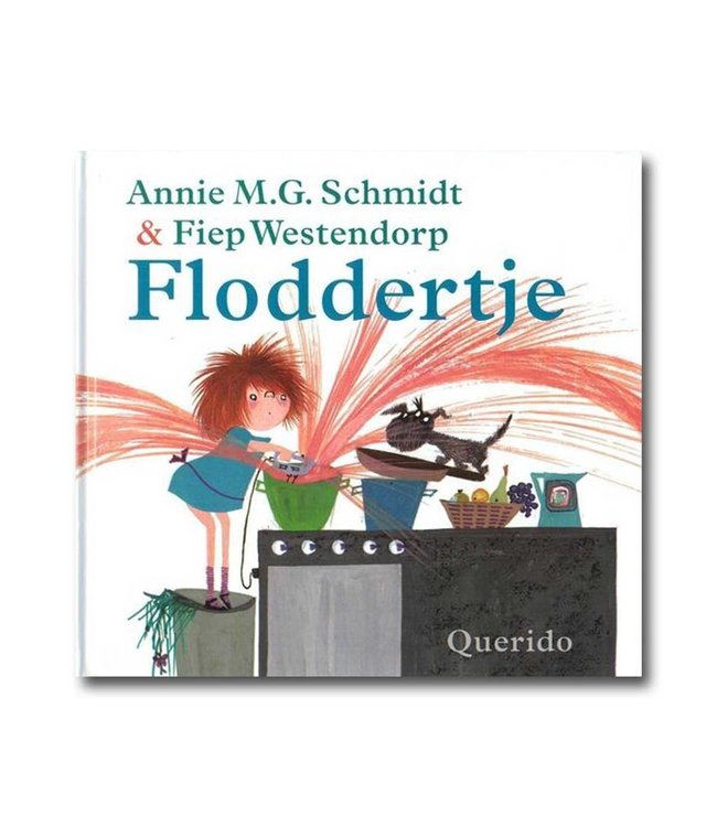 Querido Floddertje book (Scrumple dirty/ clean in Dutch)