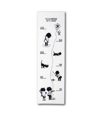 Pako Cross-stitch Set 'Jip and Janneke - growth chart'