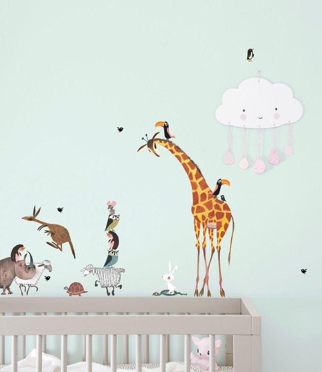 Kek Amsterdam Wall Stickers 'Animals' (set)