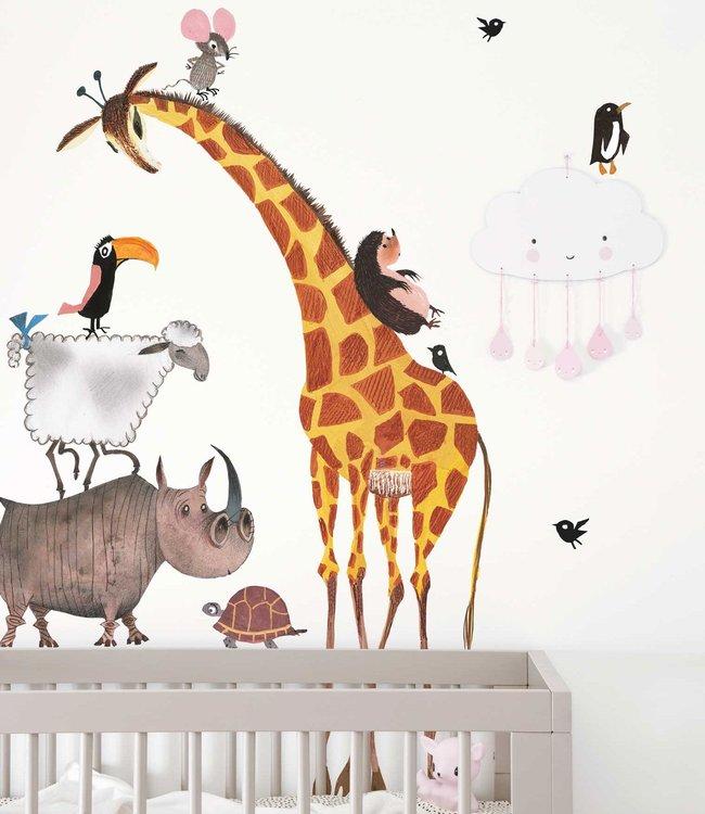 Kek Amsterdam Wall Stickers 'Animals' (XL)