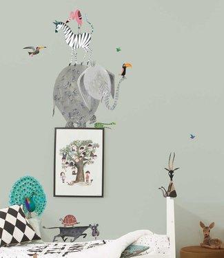 Kek Amsterdam Fiep Westendorp Wall stickers Animals / Elephant (XL)