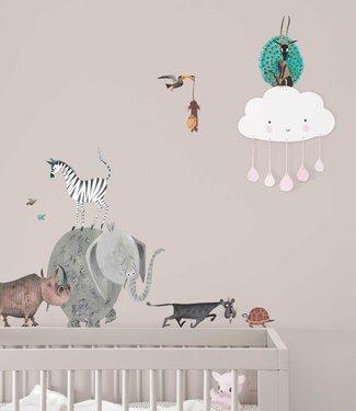 Kek Amsterdam Fiep Westendorp Wall stickers Animals / Elephant (L)