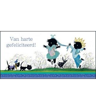 Bekking & Blitz Van harte gefeliciteerd, Jip en Janneke' XXL Kaart