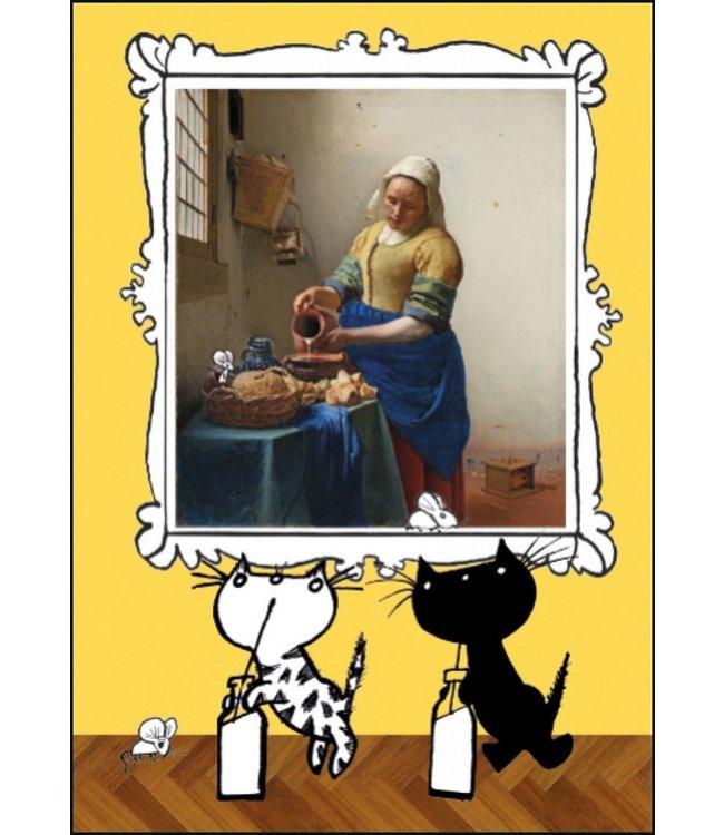 Het melkmeisje' Single Card