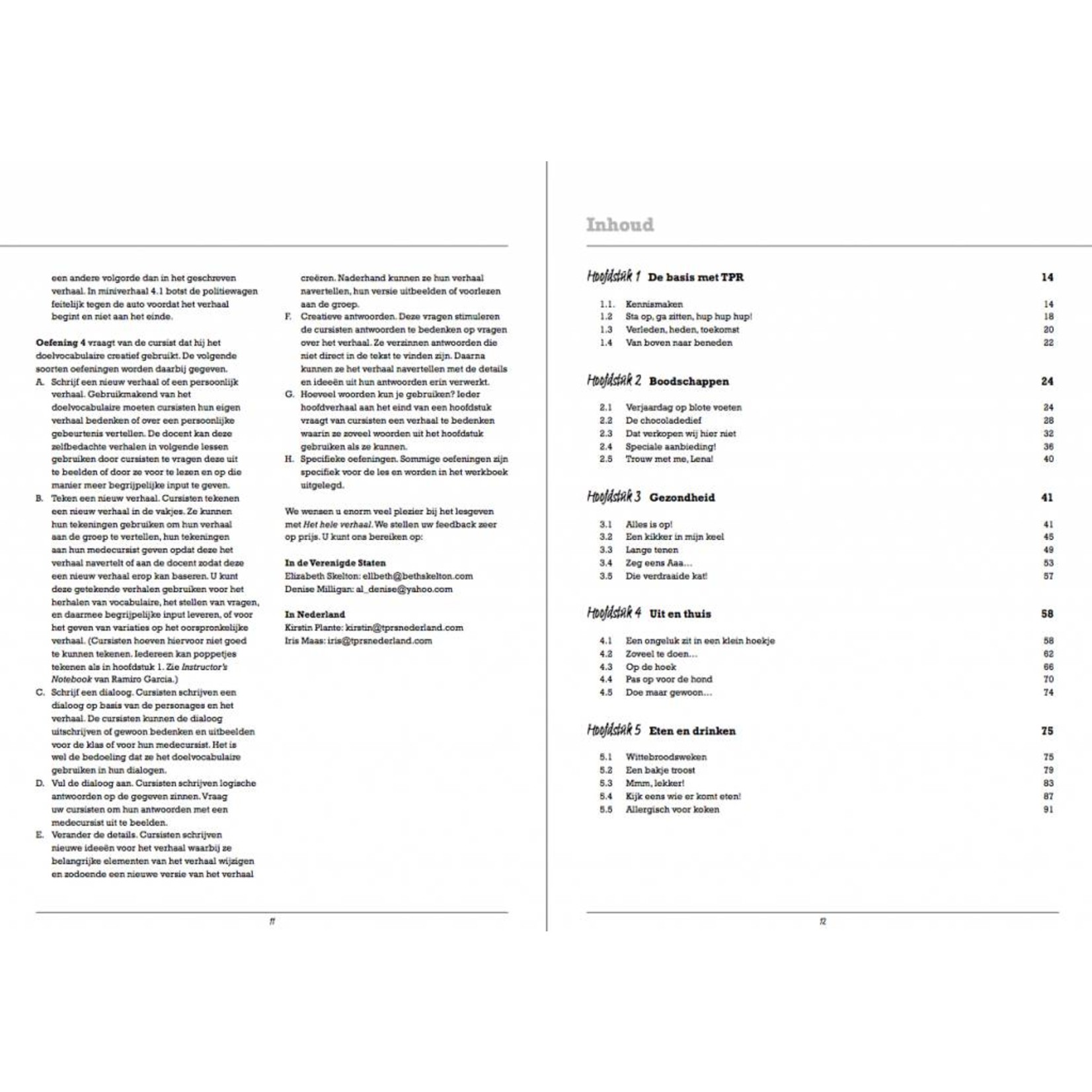 Arcos Publishers Het hele verhaal - Teacher's Guide
