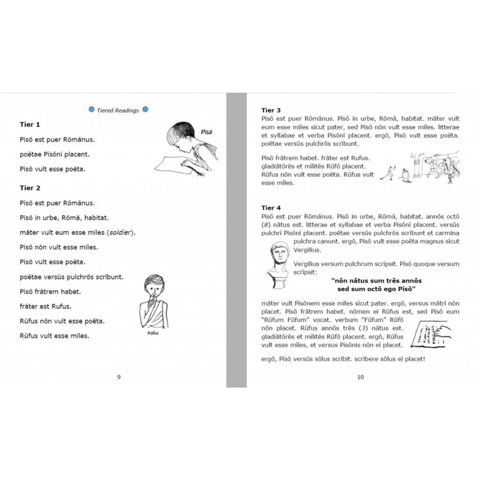 Magister P Pīsō Ille Poētulus - Werkboek