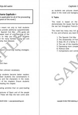 La hija del Sastre - Teacher's Guide on CD