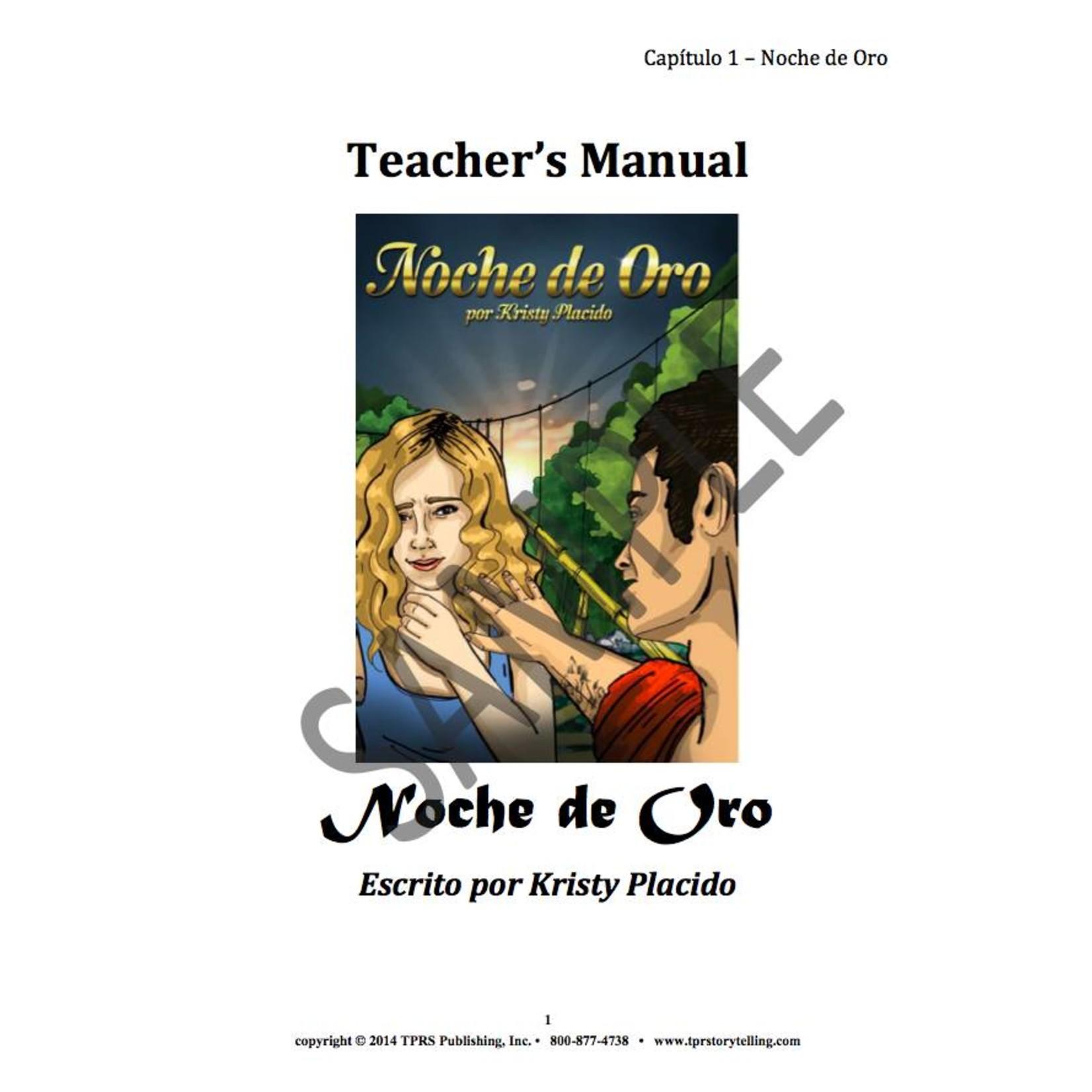 Fluency Matters Noche de oro - Teacher's Guide