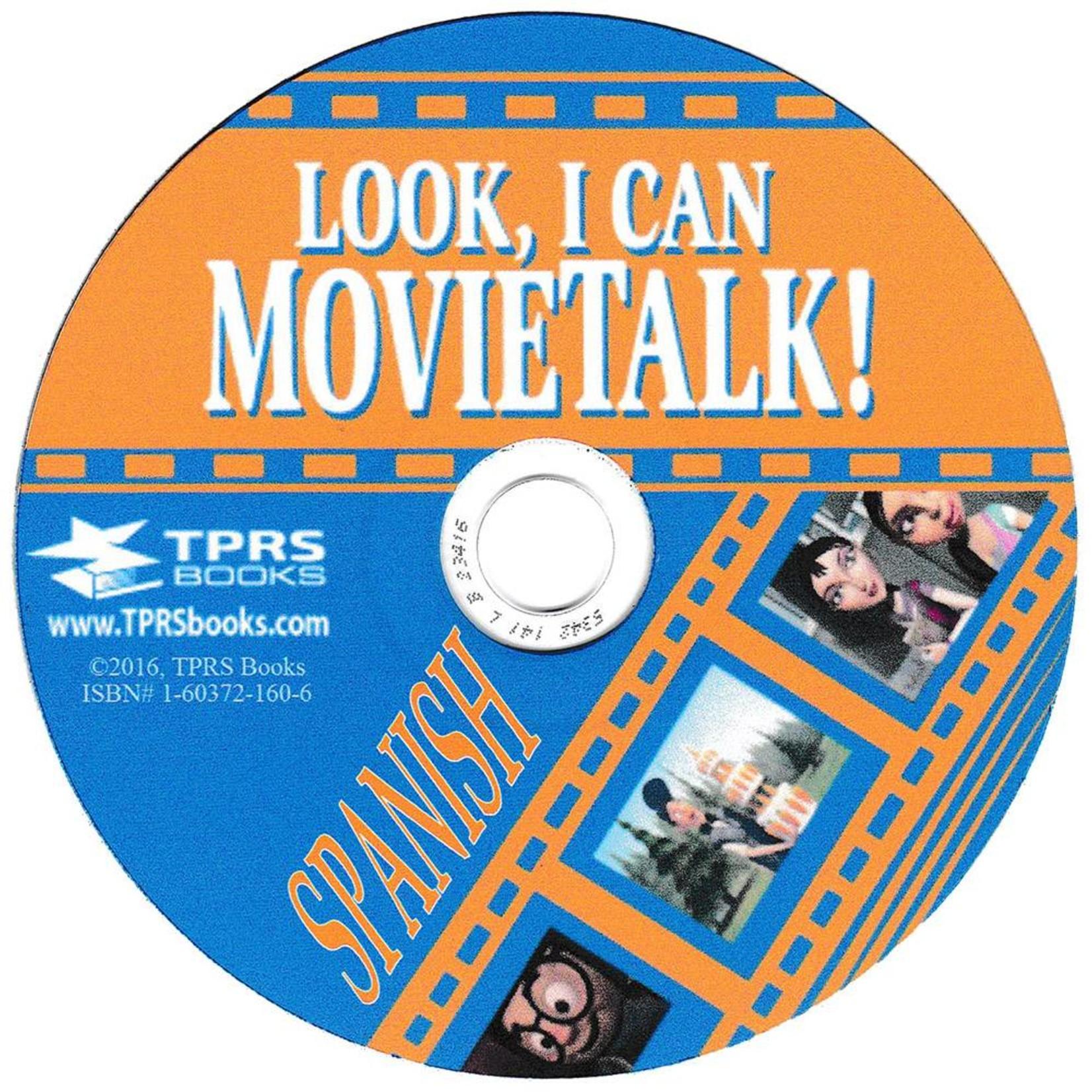 TPRS Books Look, I Can Movietalk! - Spanish