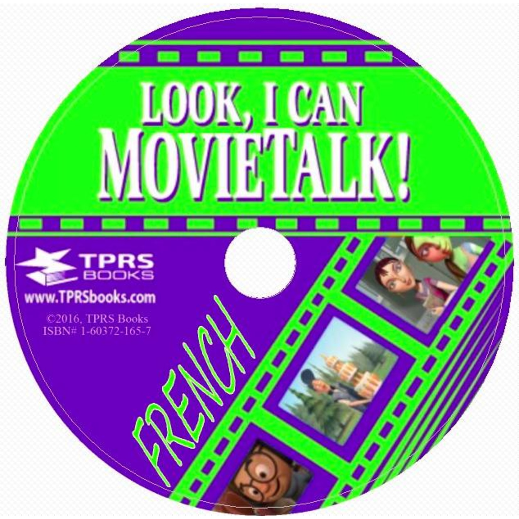 TPRS Books Look, I Can Movietalk! - French