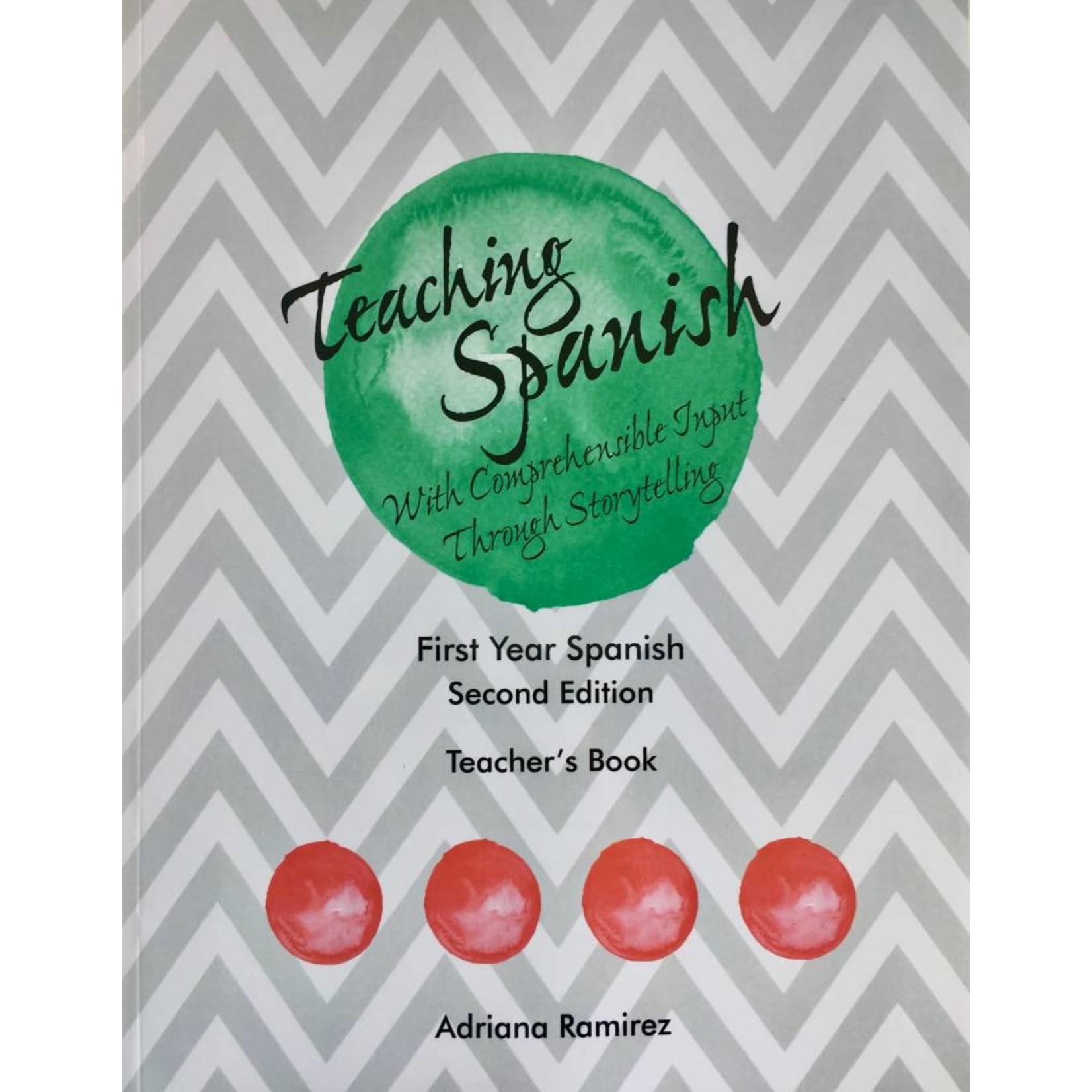 Adriana Ramirez Teaching Spanish - level 1