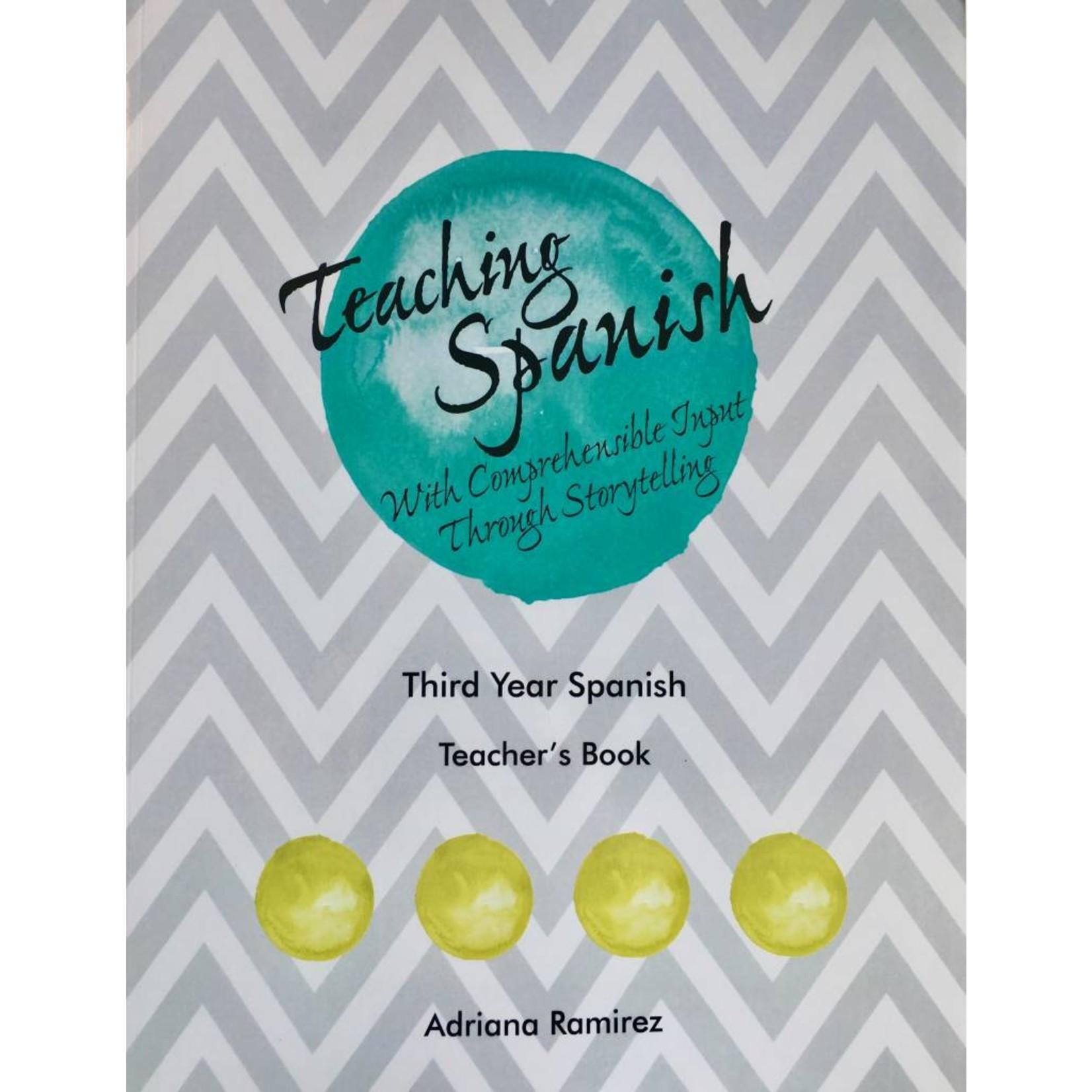 Adriana Ramirez Teaching Spanish - Level 3