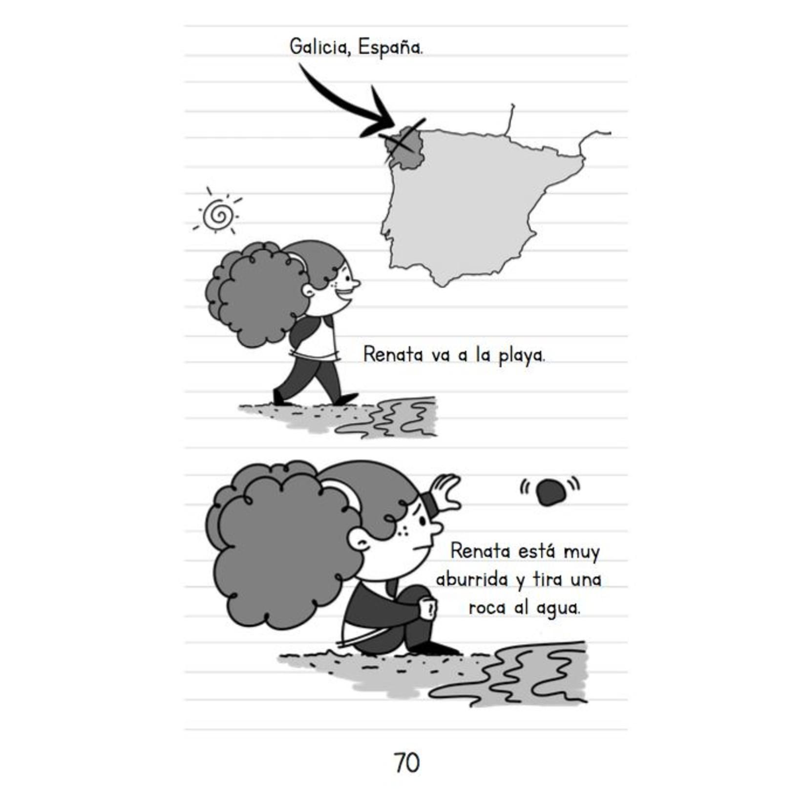 Spanish Cuentos La piñata de Renata