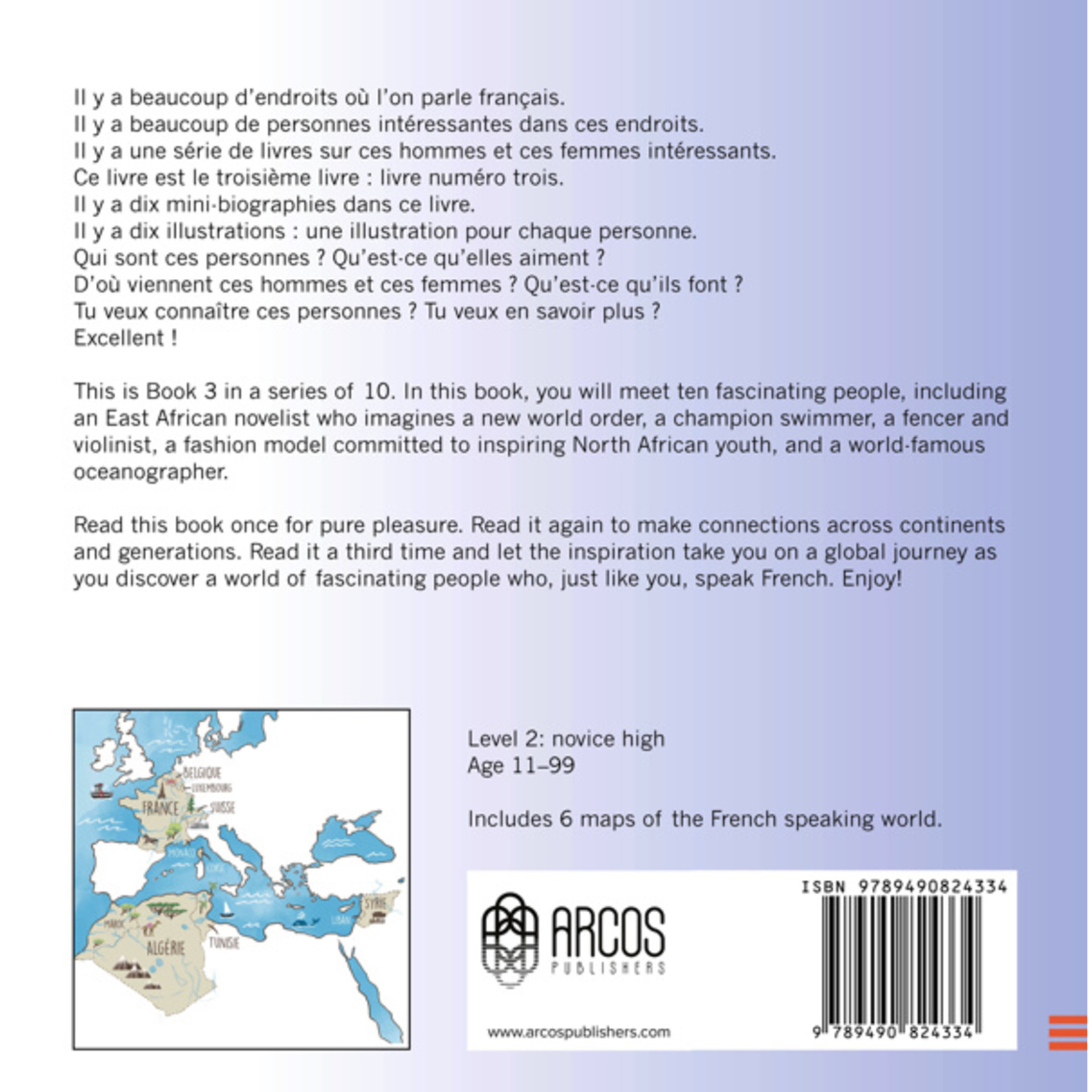 Arcos Publishers Qui parle français ? - Livre 3