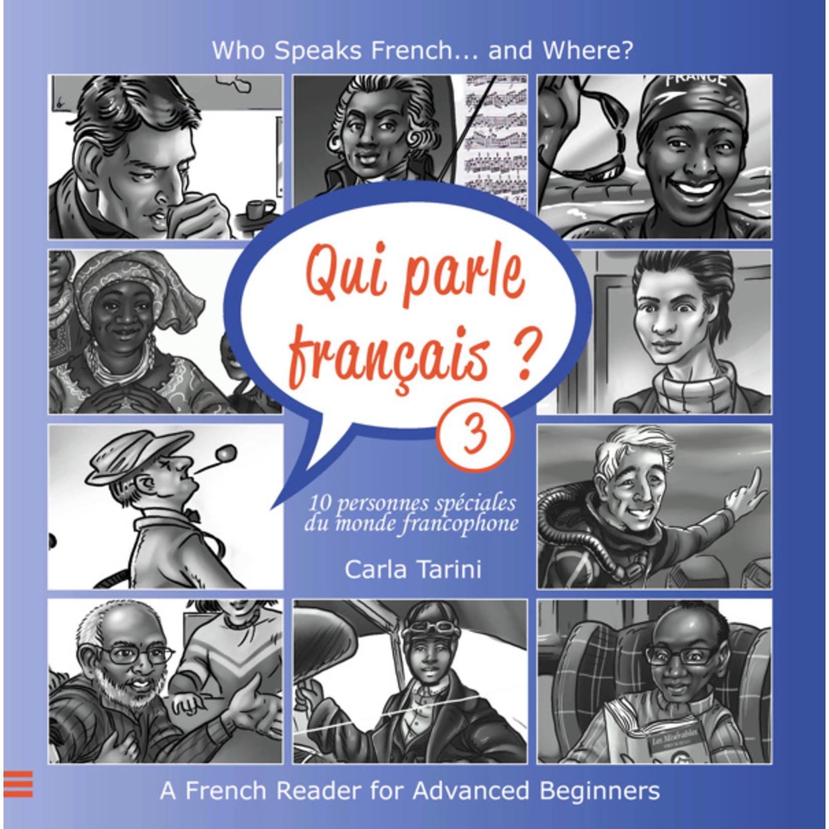 Arcos Publishers Qui parle français ? (Frans-Engels) - Livre 3