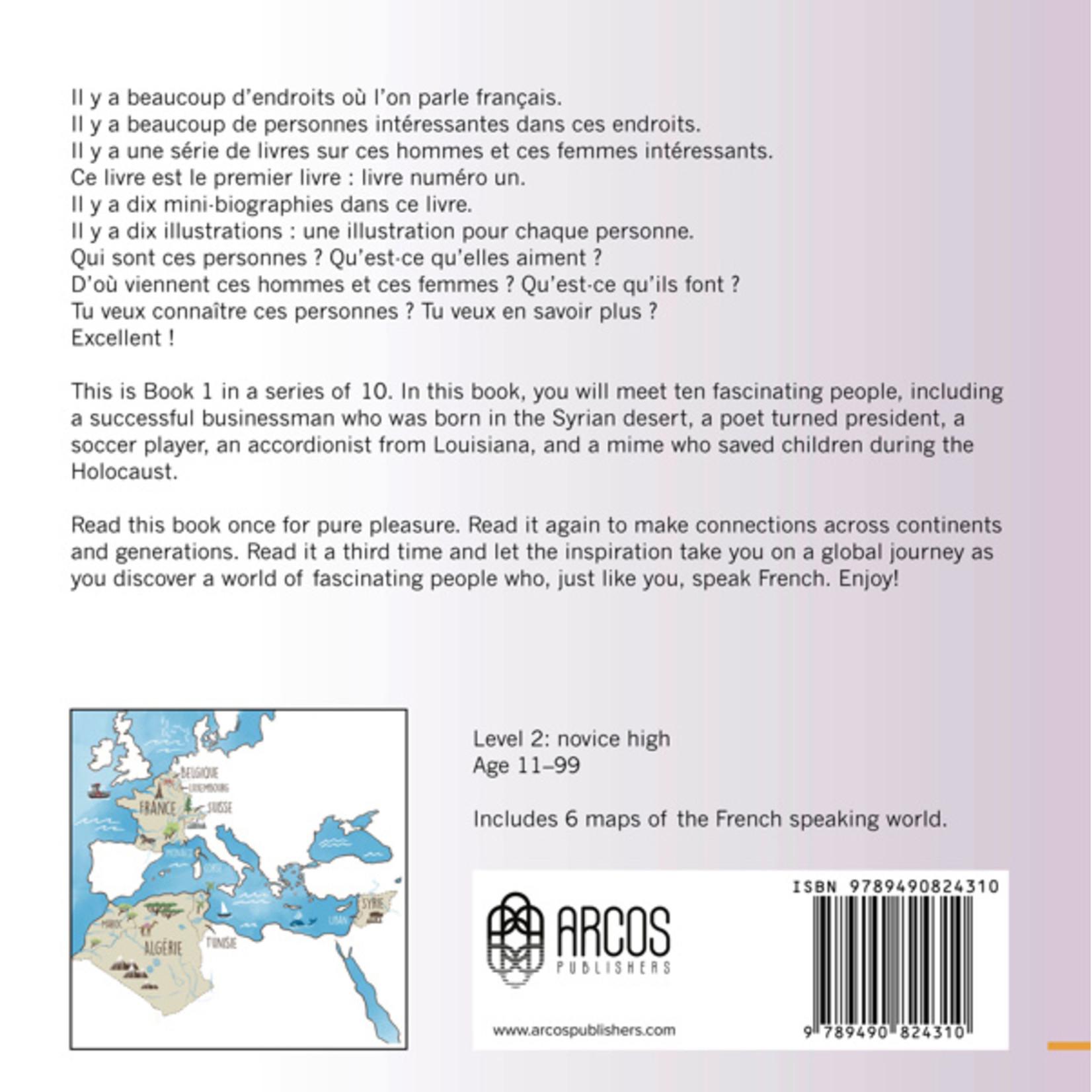 Arcos Publishers Qui parle français ? - Livre 1