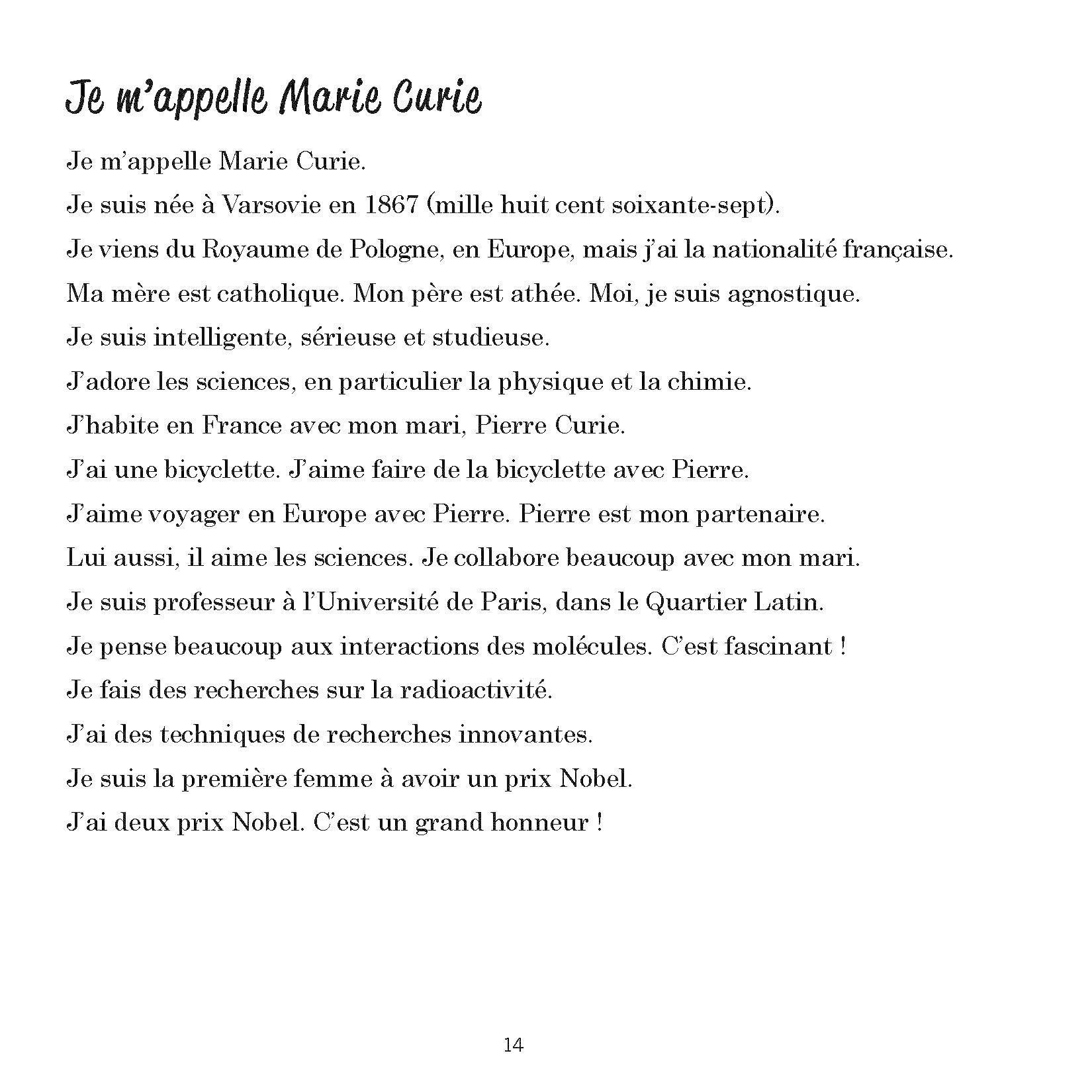 Qui parle français ? - Livre 1