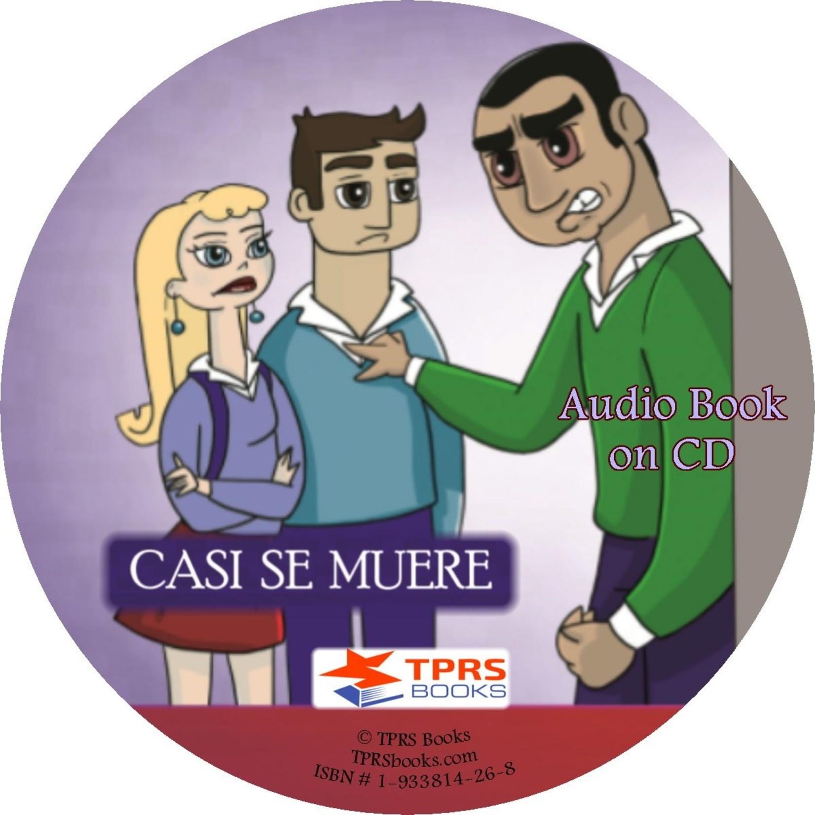 TPRS Books Casi se muere - Audiobook
